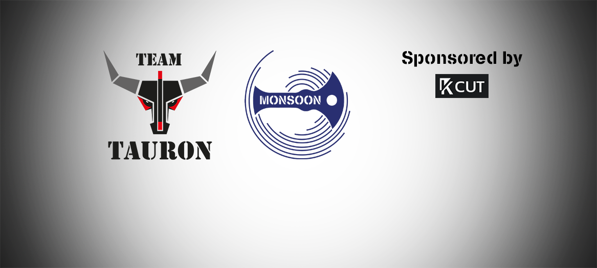 Team Tauron and Team Monsoon logos