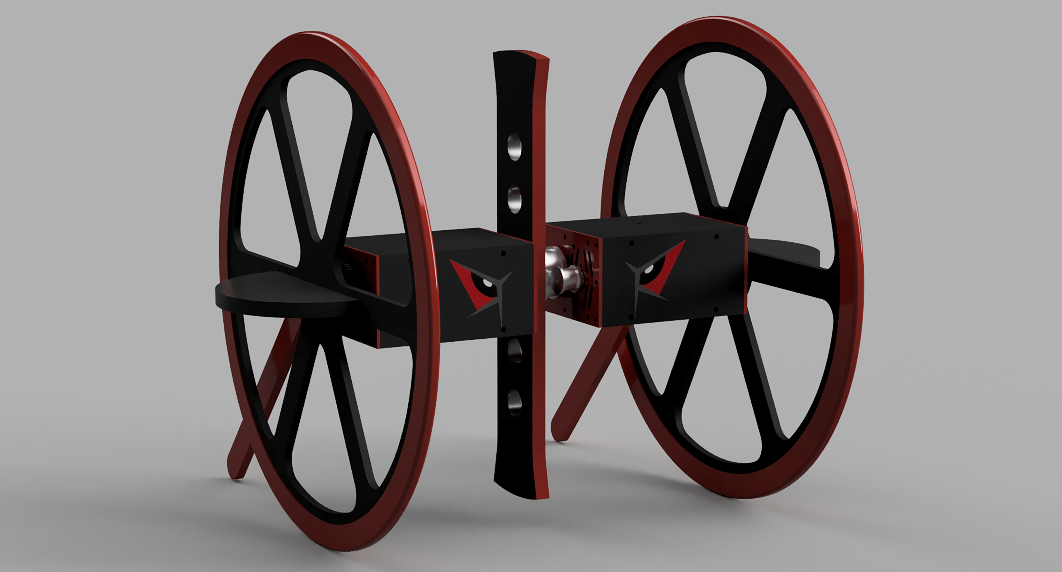 Final CAD render of Straddle