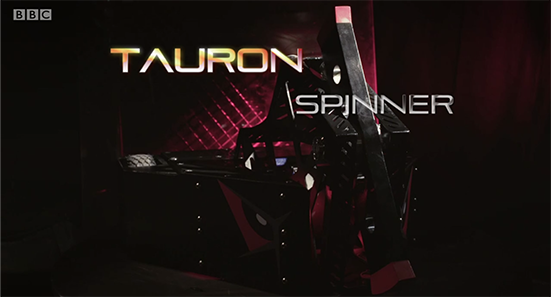 Tauron - Spinner (screenshot from BBC)